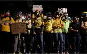 La ONU llama a respetar los derechos humanos durante las protestas en EU
