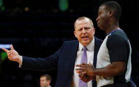 Tom Thibodeau acordará por cinco años para ser coach de Knicks. (Foto: EFE)