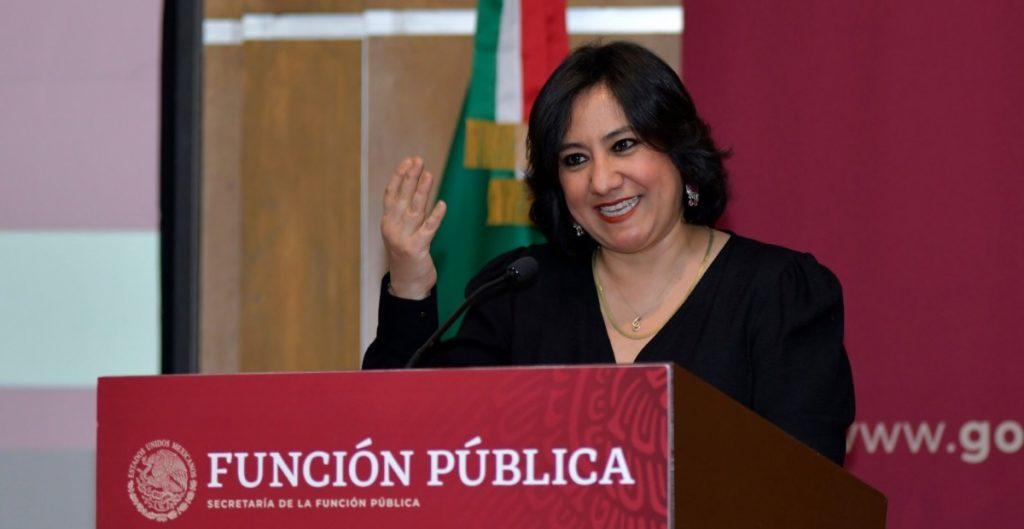 Irma Eréndira Sandoval se adjudica sanciones a Odebrecht impuestas en el sexenio anterior