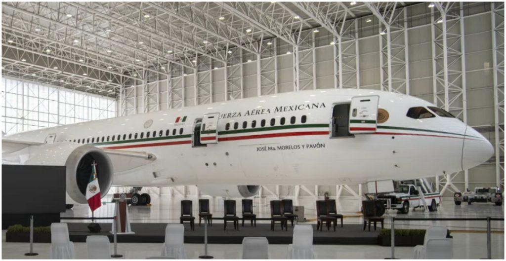 El avión presidencial llegó este miércoles a la Ciudad de México
