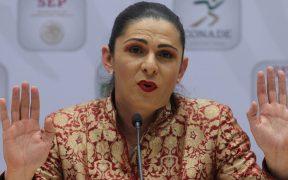Ana Guevara presentó su plan de desarrollo deportivo. (Foto: EFE)