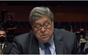 William Barr, fiscal de Estados Unidos.