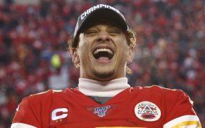 Mahomes ganó el Super Bowl con los Jefes y ahora es copropietario de los Reales. (Foto: EFE)