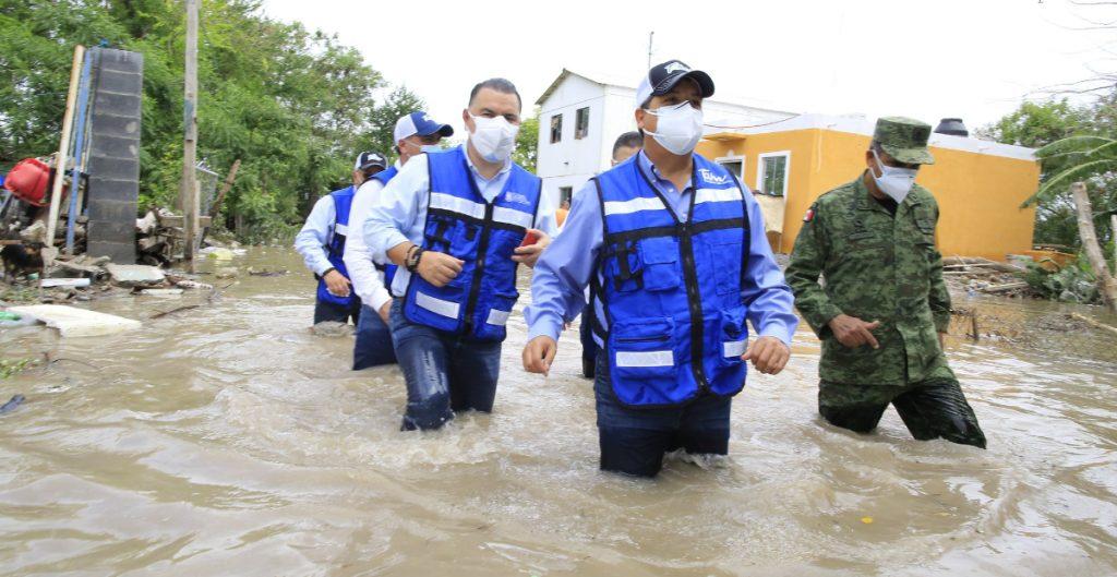 Tamaulipas pide apoyo al Fonden por huracán Hanna