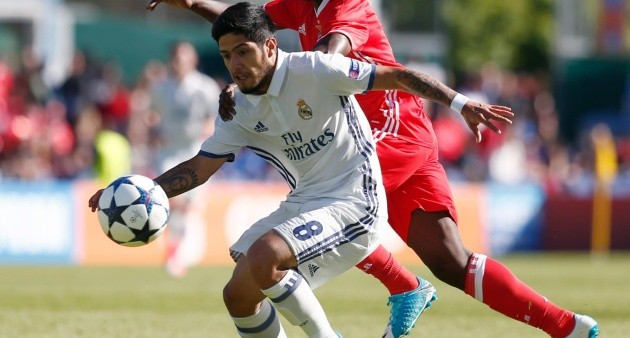 Sergio Díaz pertenece al Real Madrid. (Foto: América Monumental)