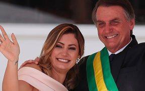 Esposa de Bolsonaro, presidente de Brasil, da positivo por Covid-19