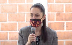 Adelanta Sheinbaum seguir en semáforo naranja la próxima semana