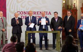 México y UNOPS firman convenio para compra de medicamentos
