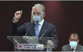 La Cooperativa Cruz Azul hizo oficial la administración provisional en conferencia de prensa