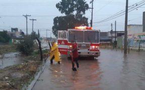 Fuertes lluvias en Durango y Zacatecas