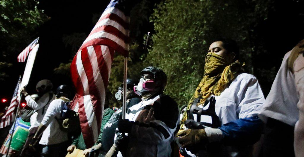 Protesta pacífica en Portland ante reducción policías en la ciudad