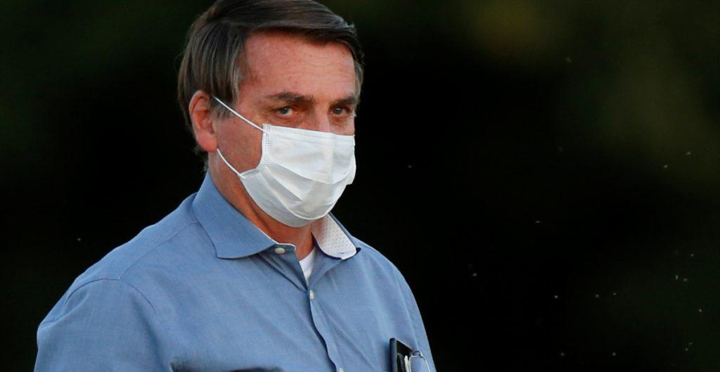 Yo sabía que un día me contagiaría, creo que le pasará a todos: Bolsonaro