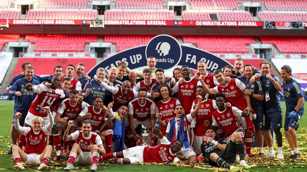 El Arsenal es el más ganador con su decimocuarta Copa FA. (Foto: EFE)