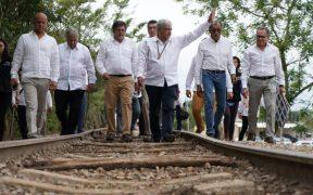 """""""No todo el que tiene es malvado"""", dice ahora AMLO respecto a sus terrenos cercanos al Tren Maya"""