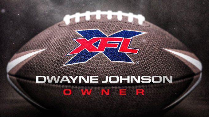 Dwayne 'La Roca' Johnson anunció así la compra de la XFL. (Foto: @TheRock)