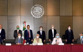 Reunión de seis gobernadores con la Segob