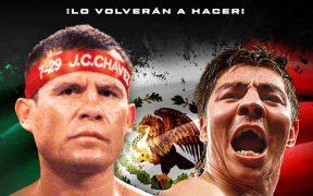 Chávez y 'Travieso' pactaron su tercera pelea de exhibición. (Foto: @RafaSotoGil)