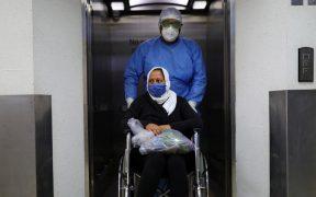 Disminuye ocupación hospitalaria y positividad de Covid en CDMX