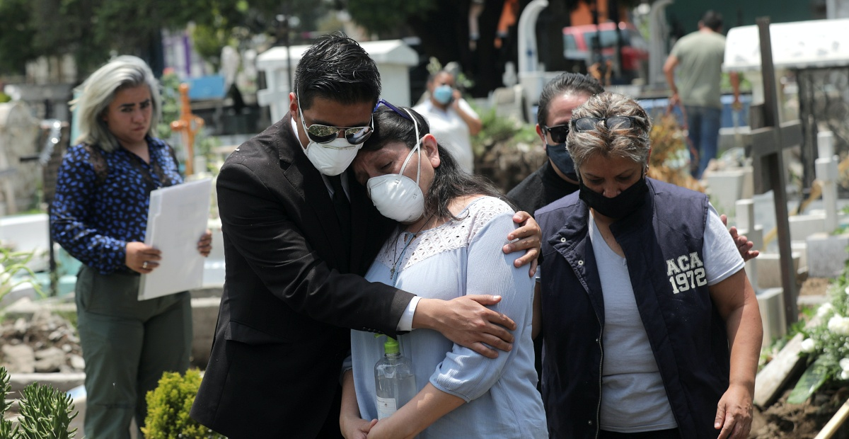 Rebasa México las 50 mil muertes por Covid-19; suma 462 mil casos