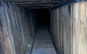 """Descubren el túnel transfronterizo """"más sofisticado en la historia"""" de EU"""