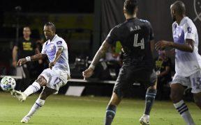 Nani logró el segundo gol de Orlando con este disparo espectacular. (Foto: Reuters)