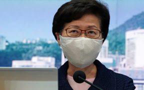 EU sanciona a jefa de Gobierno de Hong Kong por socavar su autonomía