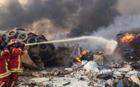Se eleva a 154 la cifra de muertos por explosión en Beirut