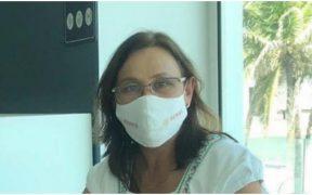 Rocío Nahle se aisla tras convivir con persona con Covid