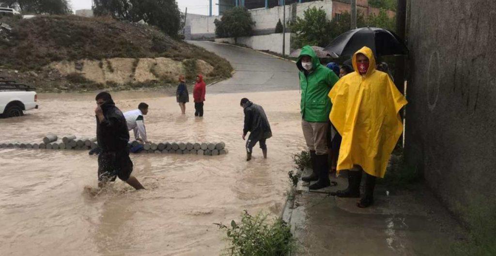 """Dan recursos extraordinarios a NL y Coahuila por lluvias de """"Hanna"""""""