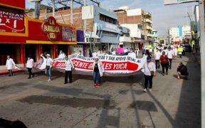 Protestan en Chiapas para liberar al médico Grajales Yuca