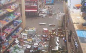 Un terremoto se registró en California, Estados Unidos.