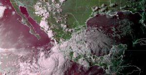 Tormenta tropical 'Elida' provocará lluvias intensas en Jalisco, Nayarit y Sinaloa