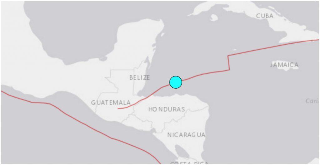 El sismo se percibió en Quintana Roo, México