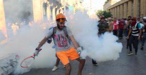 El gabinete de Líbano presentó su renuncia por la explosión ocurrida en Beirut la semana pasada.