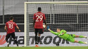 Bruno Fernandes marcó el penalti que metió al United a Semifinales. (Foto: EFE)