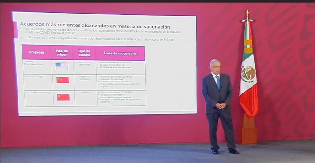 Entre septiembre y enero de 2021, México estará en la fase 3 de la vacuna contra el Covid: Ebrard