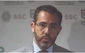 Jesús Orta, extitular de la Secretaría de Seguridad Ciudadana