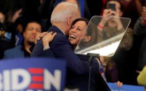 Kamala Harris y Joe Biden tendrán su primera aparición juntos hoy
