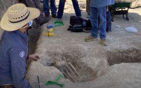 Descubren tumba prehispánica con ofrendas en el sur de Tamaulipas