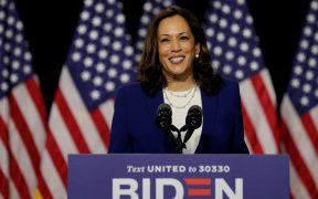 El virtual candidato demócrata Joe Biden y su recién elegida compañera de fórmula, Kamala Harris, hicieron campaña juntos por primera vez el miércoles.