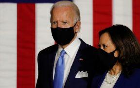 Biden recaudó 26 mdd en un día tras anunciar a Harris como compañera