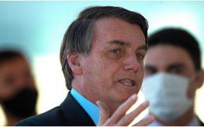 Jair Bolsonaro, presidente de Brasil, tuvo Covid en julio