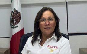 Rocío Nahle, titular de la Secretaría de Energía
