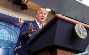 Trump cuestiona nacionalidad de Kamala Harris, como lo hizo con Obama