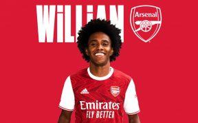 El brasileño Willan llega al Arsenal con un contrato por tres temporadas. (Foto: Arsenal)