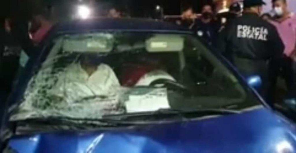 Exgobernador de Tabasco, Manuel Andrade, chocó presuntamente por manejar borracho