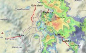 Aeropuerto de la CDMX suspende vuelos por lluvia