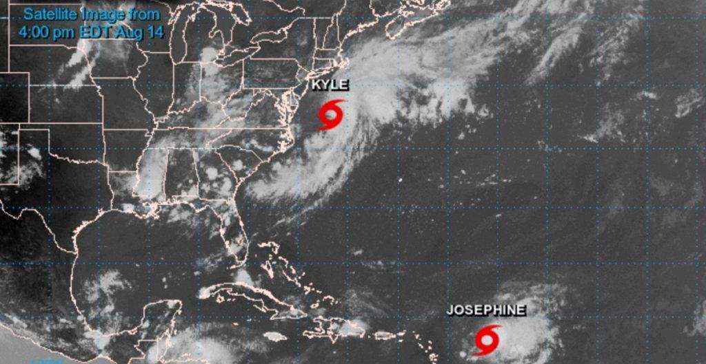 tormenta tropical Kyle