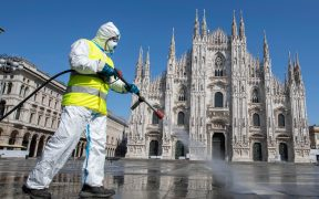 Italia sanciona a casi 500 mil personas por desobedecer la cuarentena