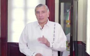 Tabasco seguirá en semáforo en rojo por 15 días más: Adán Augusto
